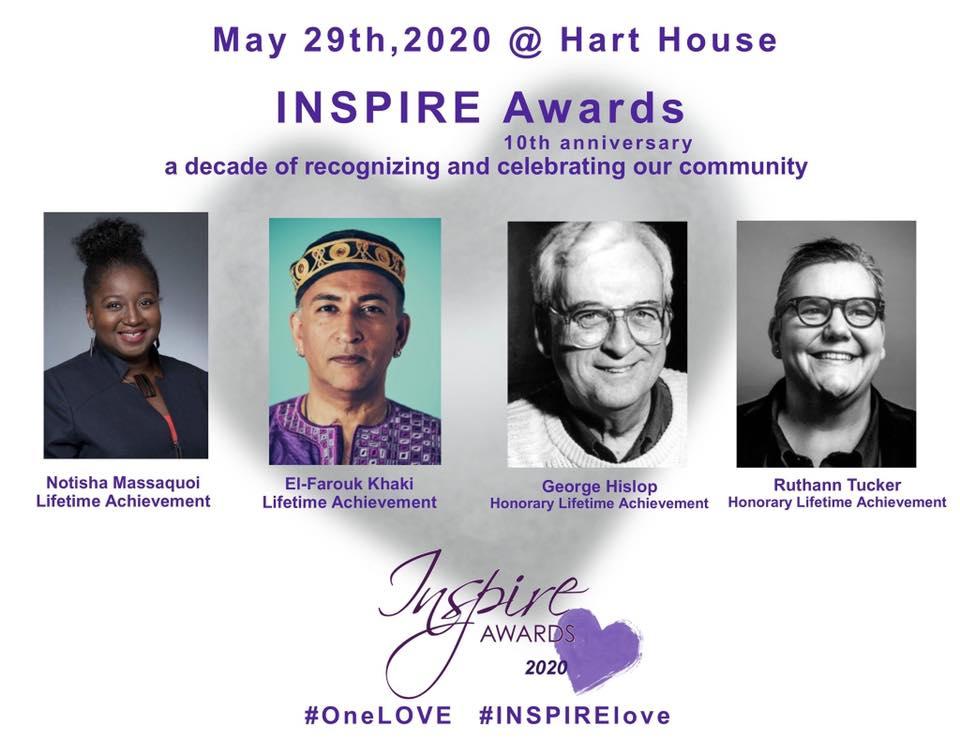 INSPIRE Awards 2020 Lifetime Achievement Recipients