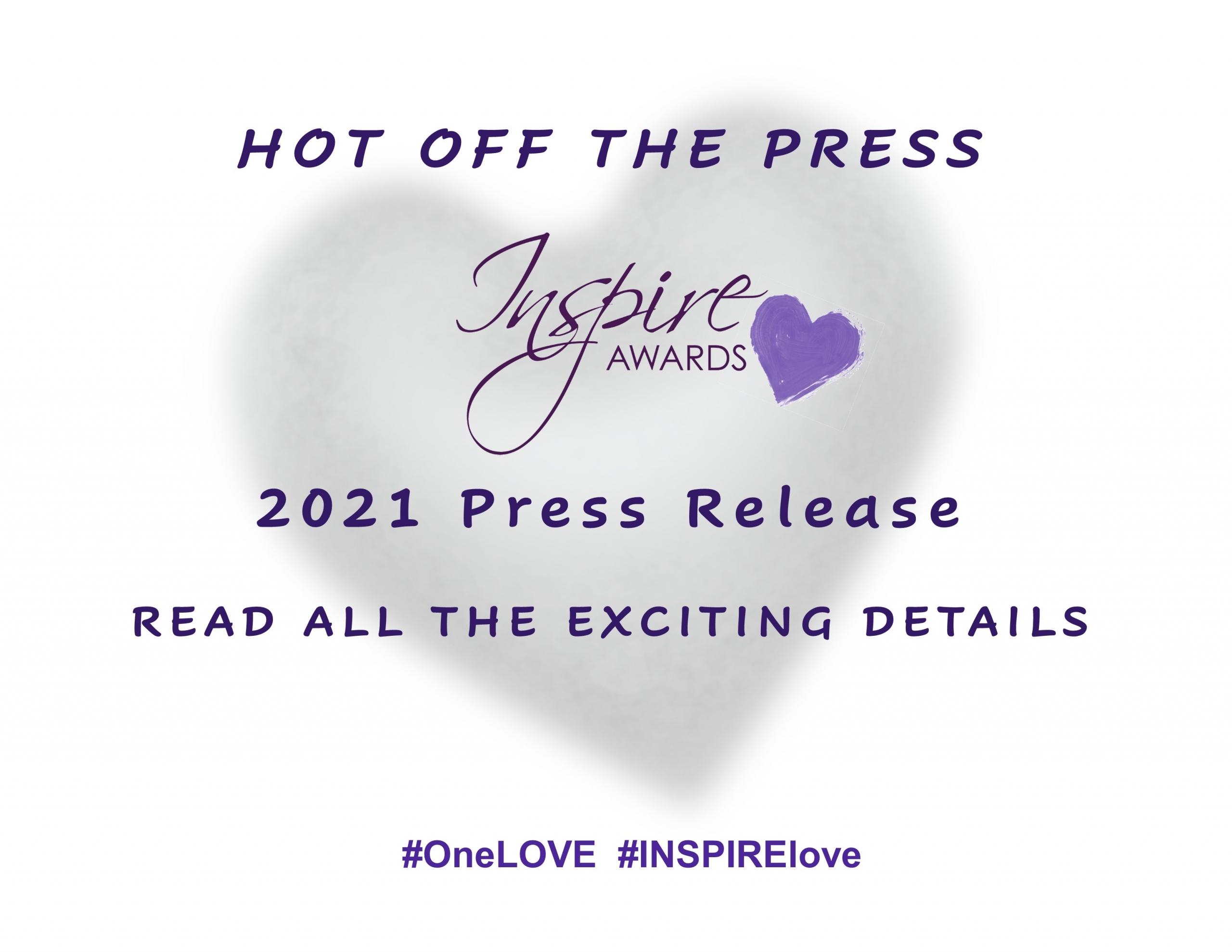 INSPIRE Awards Toronto 10th Anniversary 2021 Press Release
