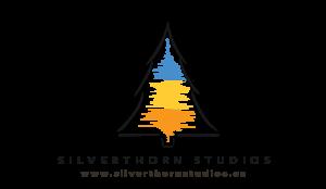Silverthorn Studios Logo with Dark Font